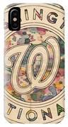 Washington Nationals Vintage Art IPhone Case