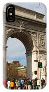 Washington Square Arch New York City IPhone Case