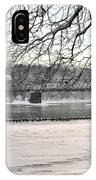 Washingtons Crossing Winter IPhone Case