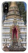Wat Chai Monkol Phra Chedi Buddha Niche Dthcm0863 IPhone Case