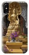 Wat Luang Buddha Image Dthu029 IPhone Case