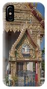 Wat Thewasunthon Ubosot Gate Dthb1420 IPhone Case