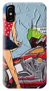 Watching The Wheels IPhone Case