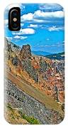 Watchman Overlook In Crater Lake National Park-oregon IPhone Case