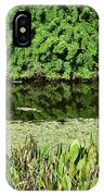 Water And Green IPhone Case