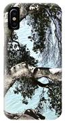 Water Beyond The Tree IPhone Case