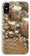 Water Bubbles Abstraction IPhone Case