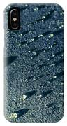 Water Droplets Close-up View  IPhone Case