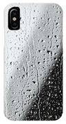Water Drops On A Window IPhone Case