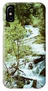 water fall Lolo pass 2 IPhone Case