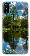 Water Garden IPhone X Case
