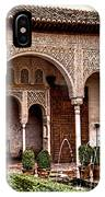 Water Gardens Of The Palace Of Generalife IPhone Case