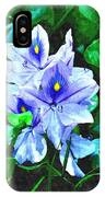 Water Hyacinth 1 IPhone Case