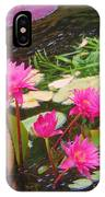 Water Lilies 009 IPhone Case