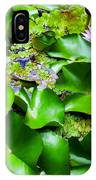 Water Lilies 31 IPhone Case