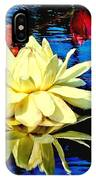 Water Lilly Pond IPhone Case