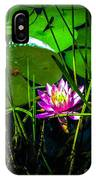 Water Lily 3 IPhone Case