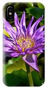 Water Lily Bloom IPhone Case