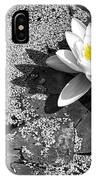 Water Lily IPhone X Case