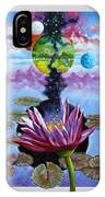 Water Lily Seeds IPhone Case