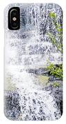 Water Over Rocks At Misty Fjords National Monument-alaska IPhone Case