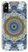 Water Patterns Kaleidoscope IPhone Case