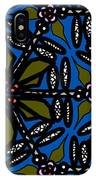 Water Plant And Dragonfly IPhone Case