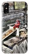 Water Pump In Nature IPhone Case