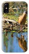 Water Rail Reflection IPhone Case
