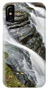 Water Rushes Forth IPhone Case