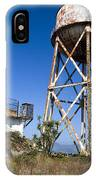 Water Tower Alcatraz Island IPhone Case