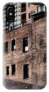 Water Tower With Cityscape IPhone Case