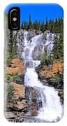 Water Water And More Water Hence Waterfall IPhone Case