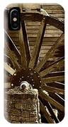 Water Wheel At The Grist Mill IPhone Case