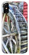 Water Wheel On Mill IPhone Case