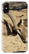 Waterbuck Fight IPhone Case