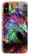 Watercolor Dragon IPhone X Case