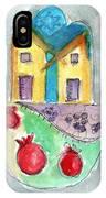 Watercolor Hamsa  IPhone Case