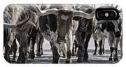 Watercolor Longhorns IPhone Case