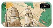 Watercolor Map 2 IPhone Case