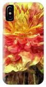 Watercolor Of Dreamy Dahlia IPhone Case