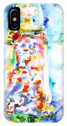 Watercolor Woman.18 IPhone Case