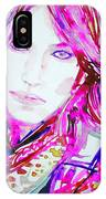 Watercolor Woman.33 IPhone Case