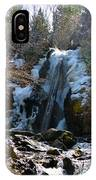 Waterfall 4 IPhone Case