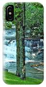 Waterfall And Hammock In Summer 2 IPhone Case
