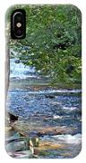 Waterfall And Hammock In Summer IPhone Case