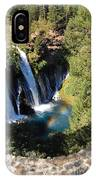 Waterfall And Rainbow 2 IPhone Case