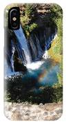 Waterfall And Rainbow 3 IPhone Case