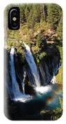 Waterfall And Rainbow IPhone Case