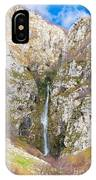 Waterfall At Lago Del Matese IPhone Case